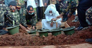 Pembangunan Masjid Syekh Quro An-Nadhlah Ditarget Empat Bulan Rampung